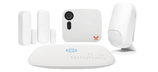 Smart Home Security Starter Kit with Ooma Butterfleye Camera.