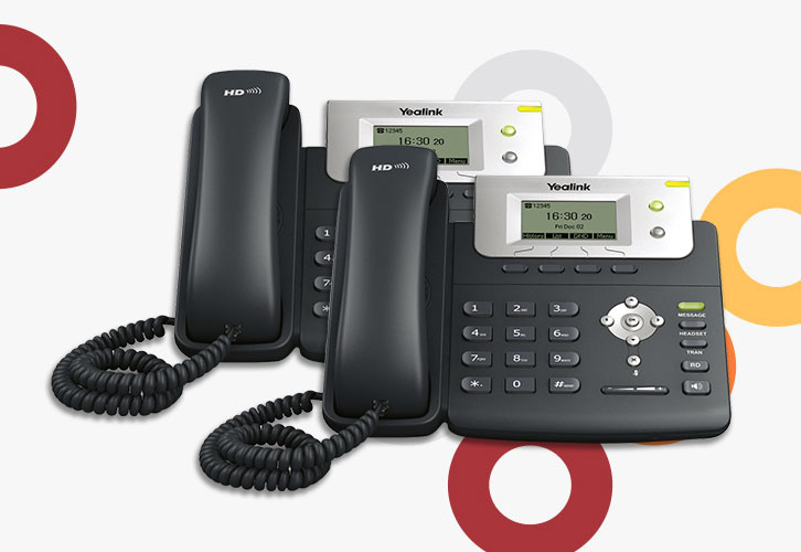 Ooma Yealink T21 IP Phones.
