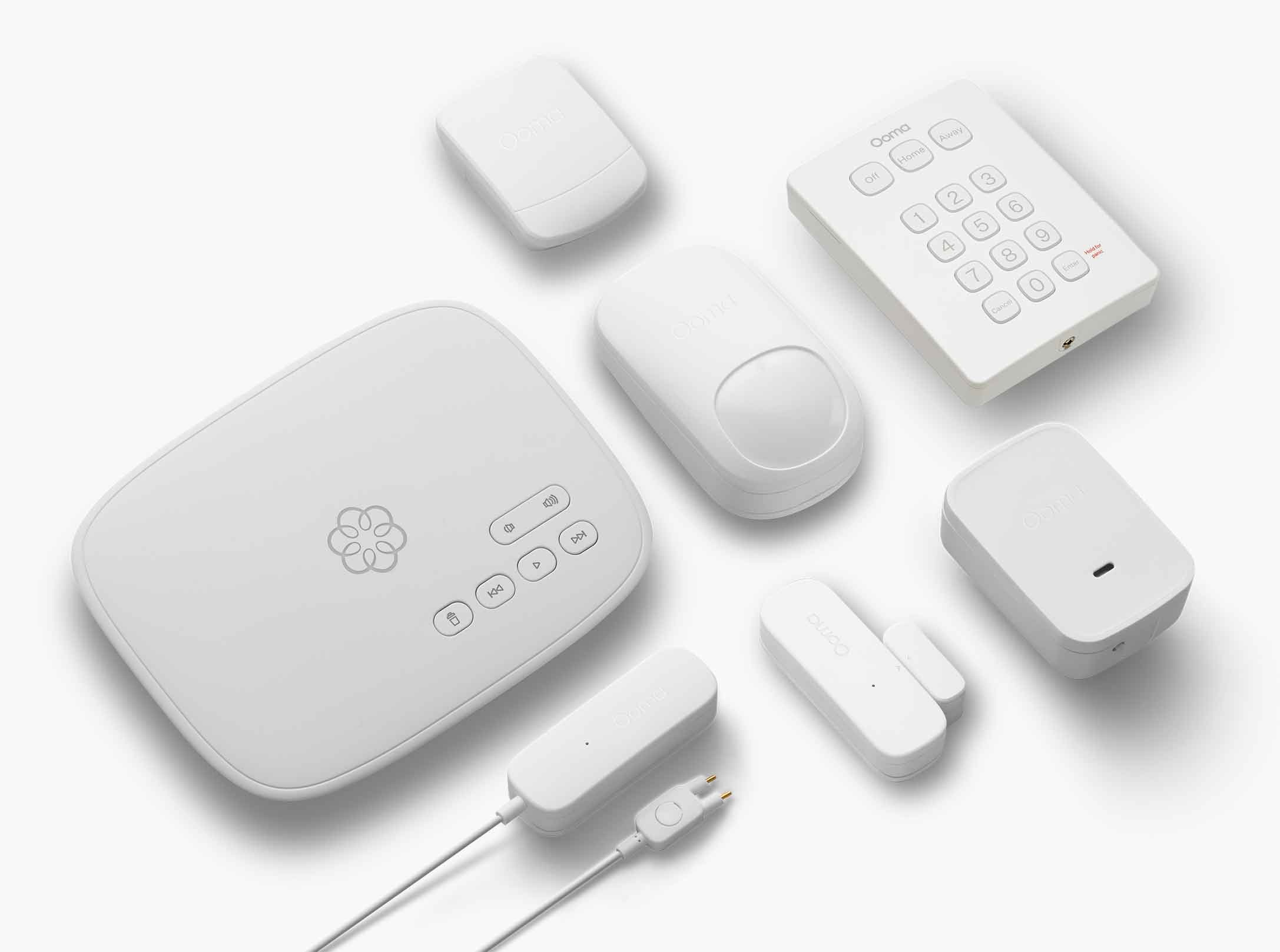 Ooma Telo + Door and Window Sendor + Motion Sensor hero image