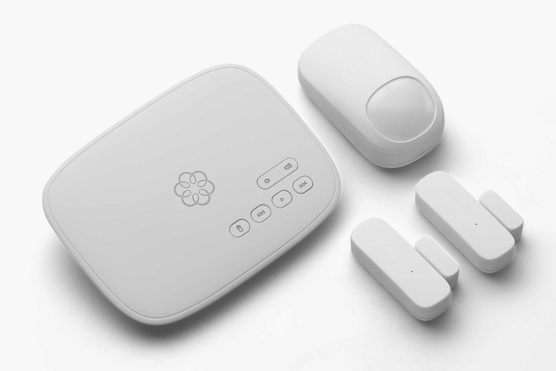 Ooma Smart Security Starter Pack.