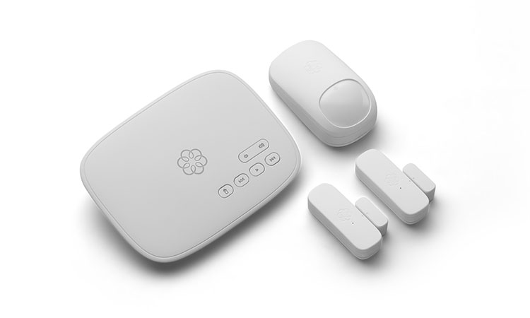 Ooma starter home security package.