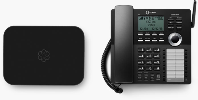 Ooma office phone products.