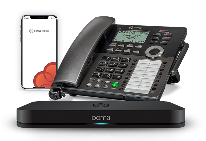 Ooma office phone systems.