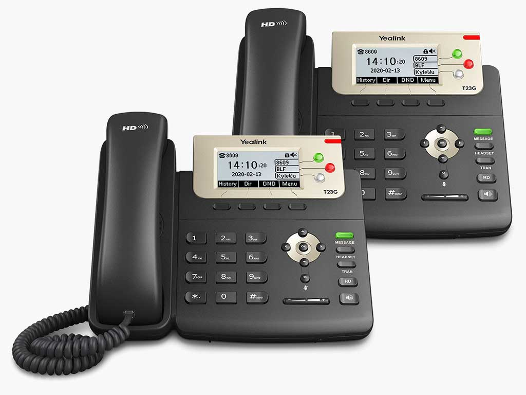 Ooma Two T-23 IP Phones for Small Business