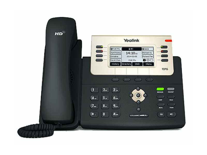 Yealink T27 business phone.