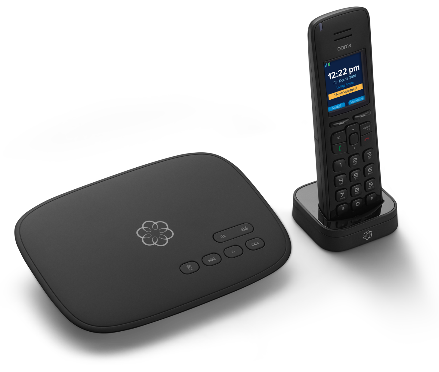 Ooma Telo with HD3 handset image
