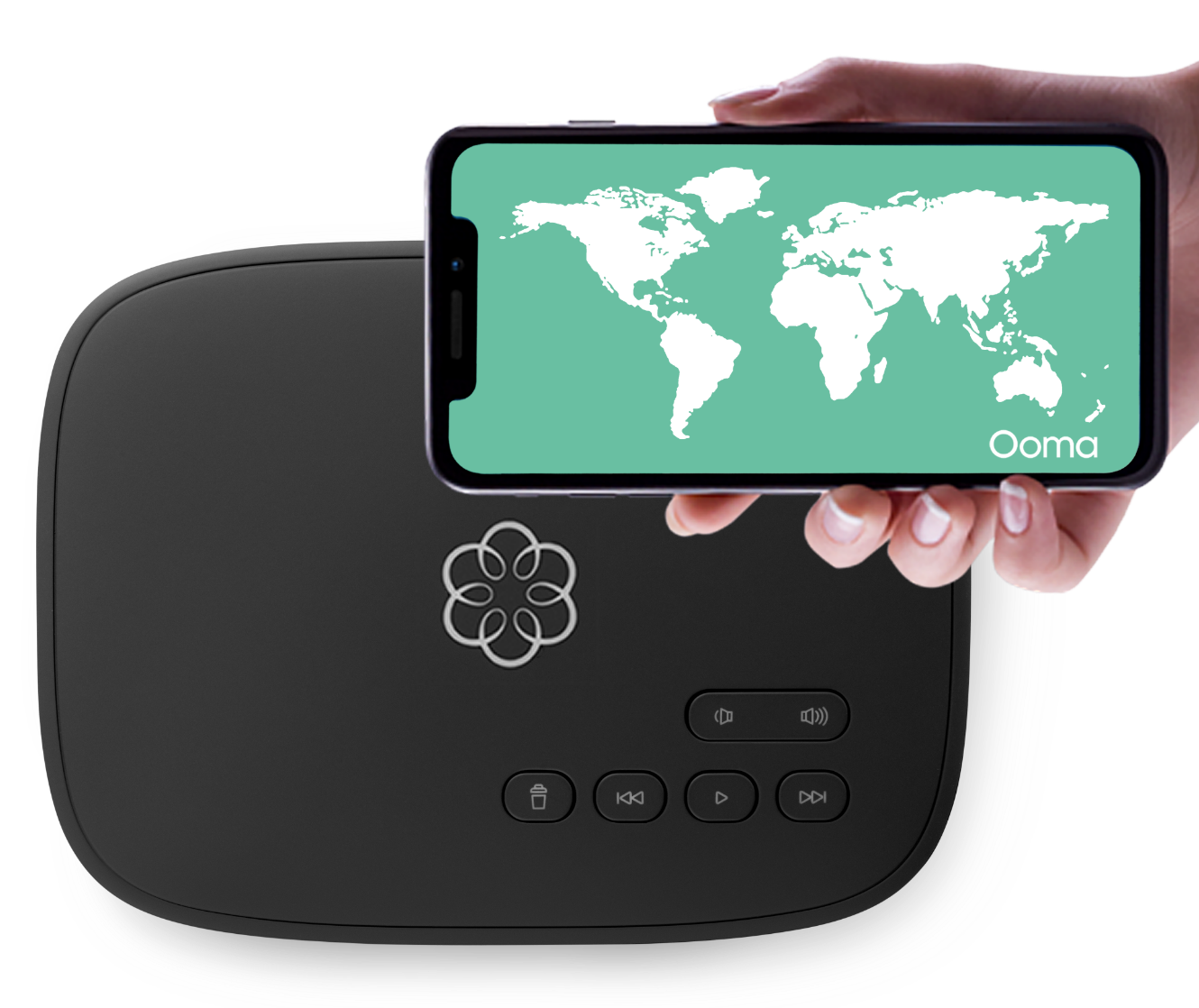 Ooma World Plan: Unlimited international calling image - Telo with Ooma App