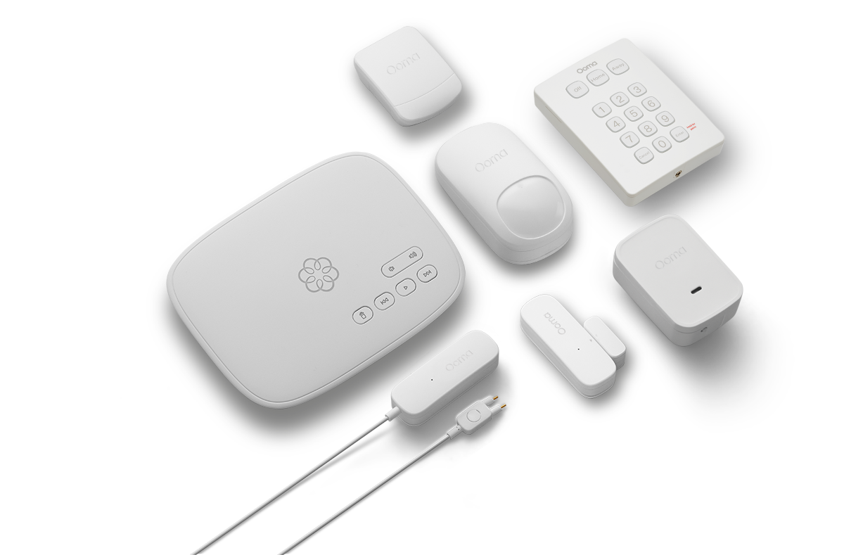 Ooma product assortment.