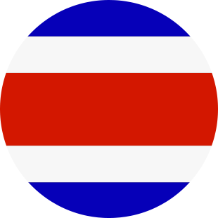 international flag of Costa Rica