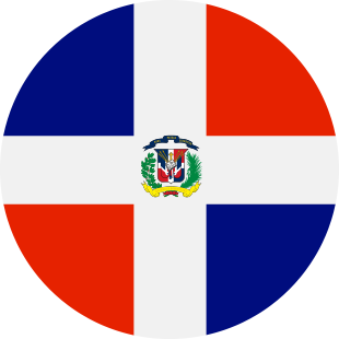international flag of Dominican Republic