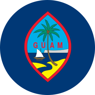 international flag of Guam