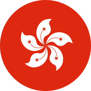 international flag of Hong Kong