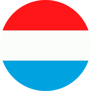 international flag of Luxembourg