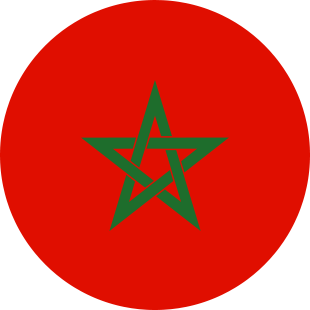 international flag of Morocco