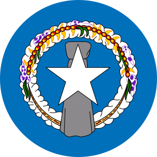 international flag of Commonwealth of North Marianas Islands