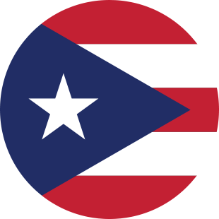 international flag of Puerto Rico