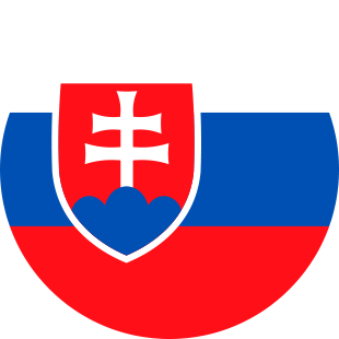 international flag of Slovak Republic