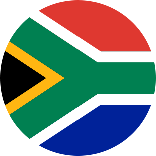 international flag of South Africa
