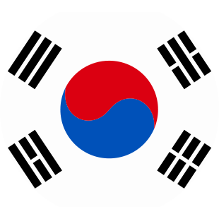 international flag of South Korea