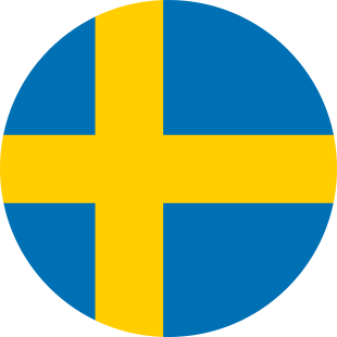 international flag of Sweden
