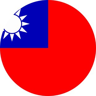 international flag of Taiwan