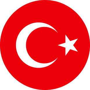 international flag of Turkey