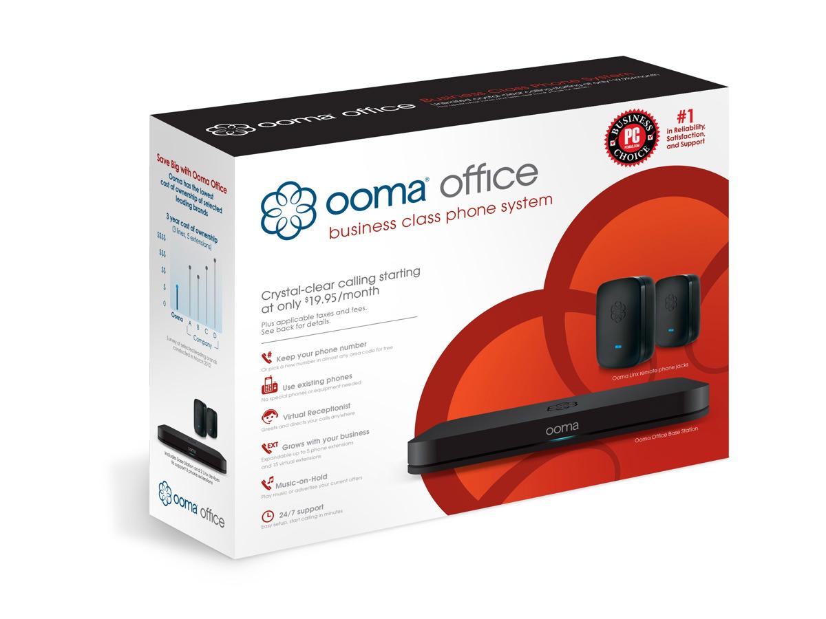 Ooma Office Packaging