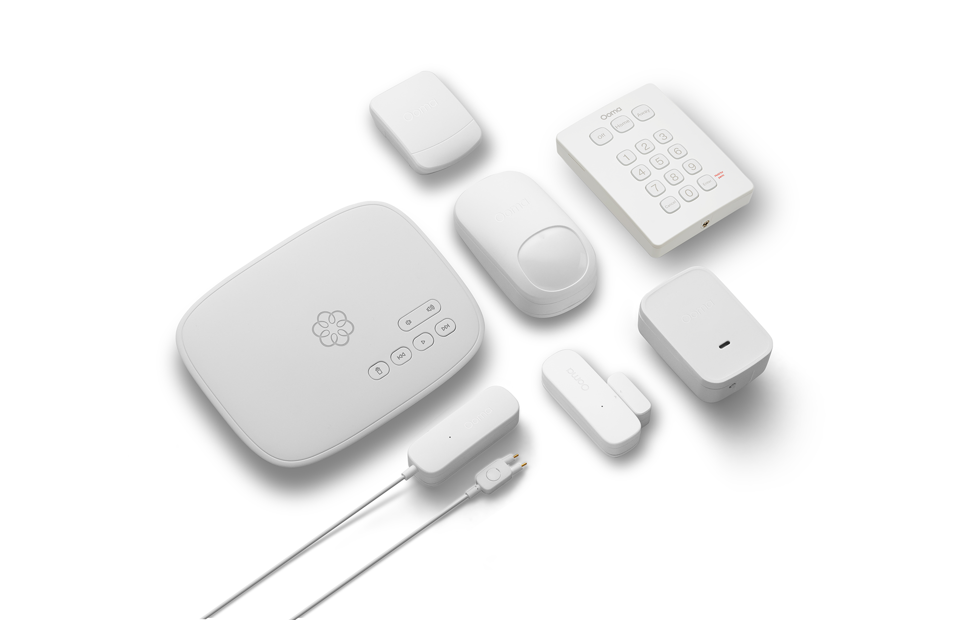 Ooma home security google assistant