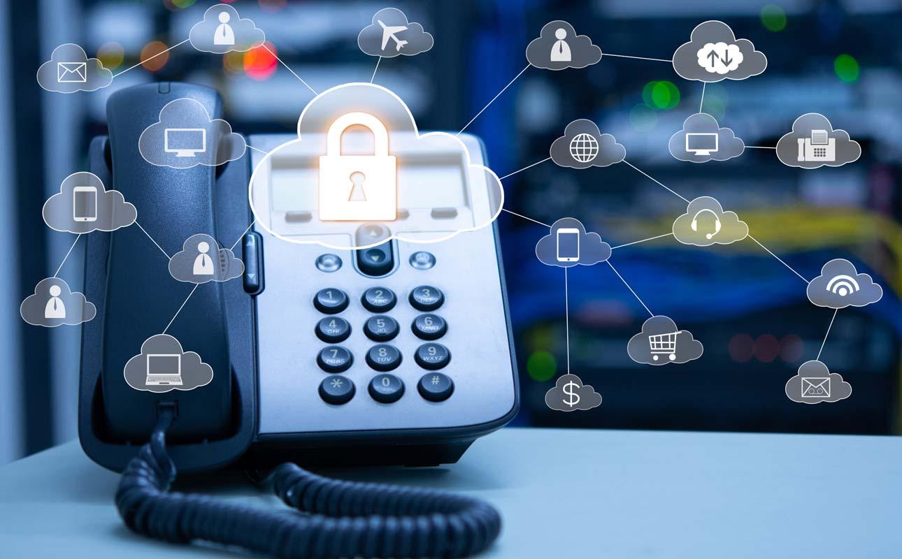 How secure is VoIP vs. landline? - blog post image