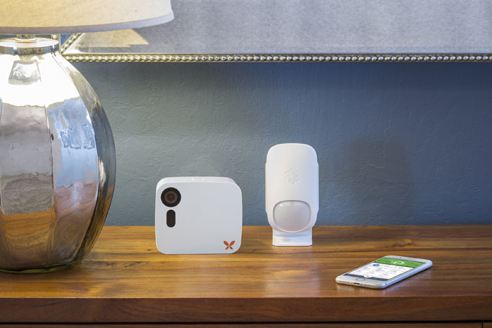 Ooma home security with Butterfleye