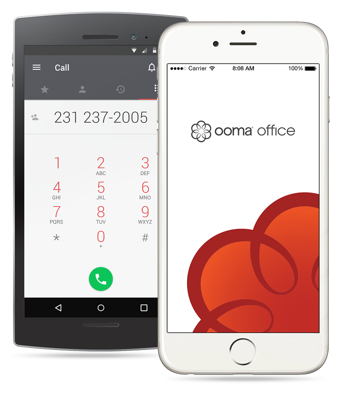 remote access with ooma office mobile app