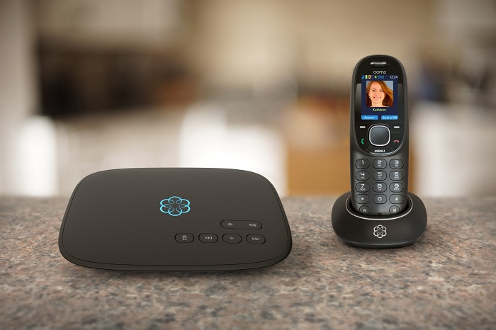 Ooma Telo costs less than a landline per month