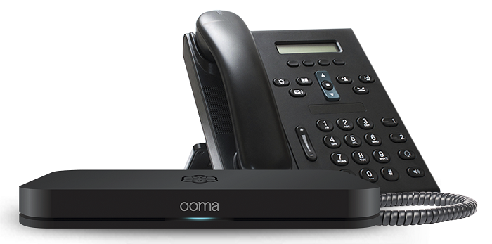 Ooma Office features virtual receptionist