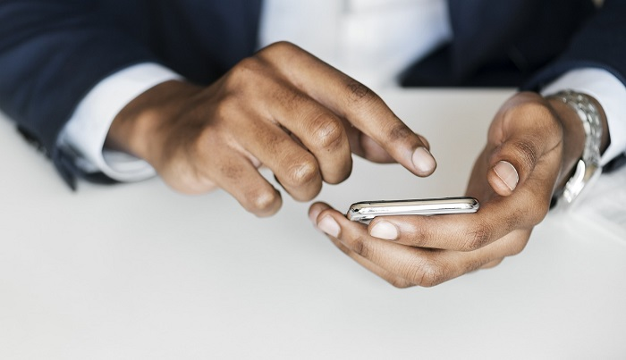 access landline from a mobile device via free calling app