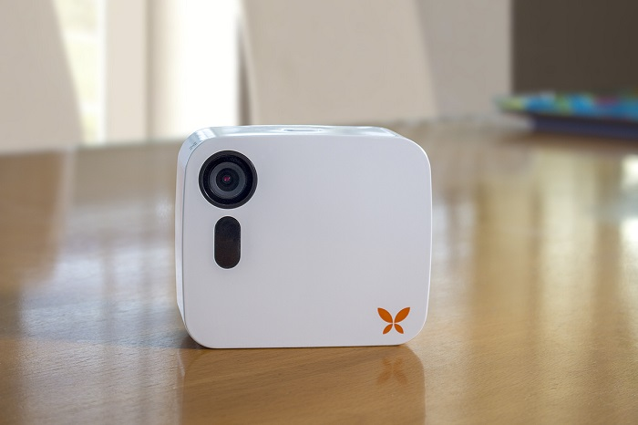 security camera integrated with Ooma home security