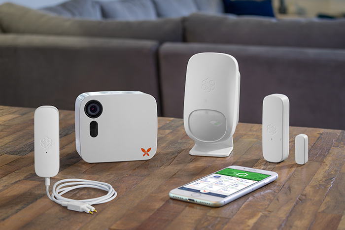 secure property Ooma Home sensors