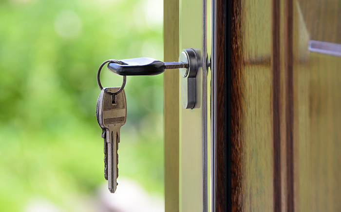 secure property to prevent crime