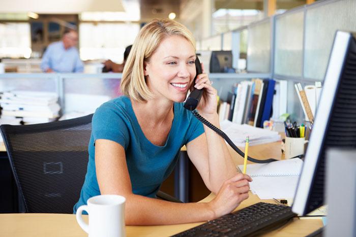Ooma customer service representative