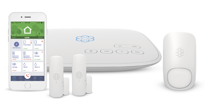 multifamily building Ooma smart security