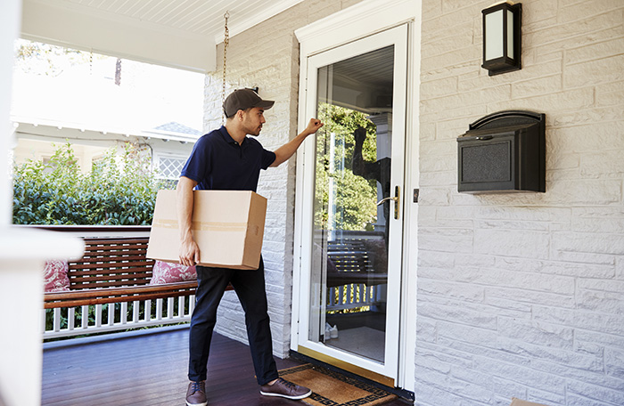 avoiding package theft Ooma Butterfleye