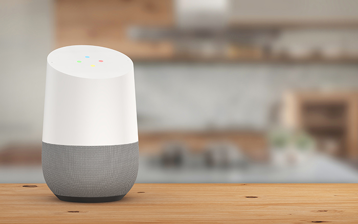 Ooma hands-free security Google