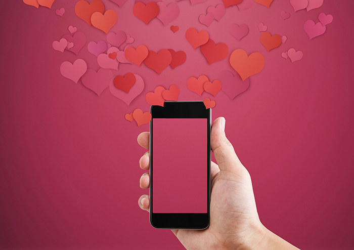 free calling app Valentine's Day