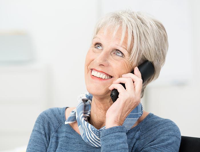 senior landline phone replacement