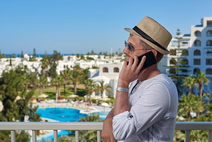 making calls while traveling internationally