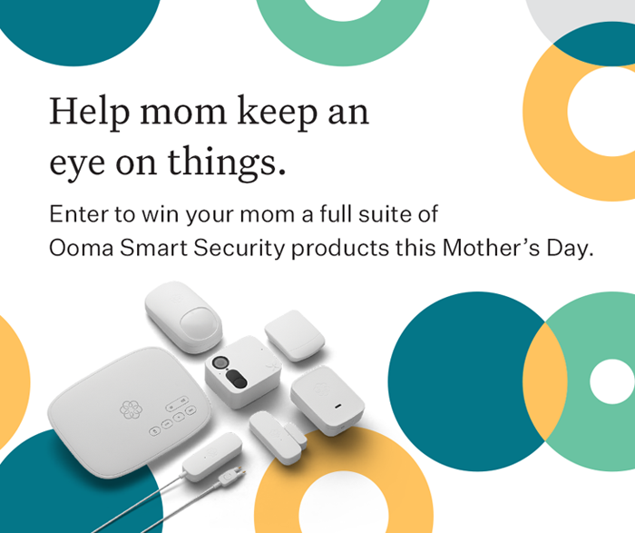 ooma Mothers Day giveaway 2019