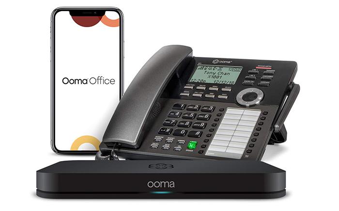 Ooma cloud phone B2B sales