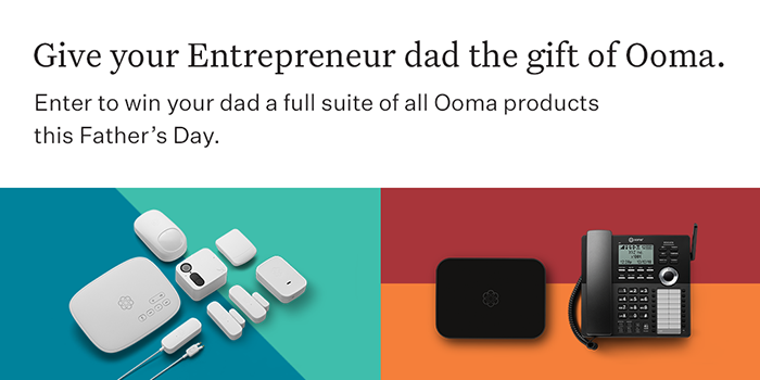 Ooma Father's Day giveaway