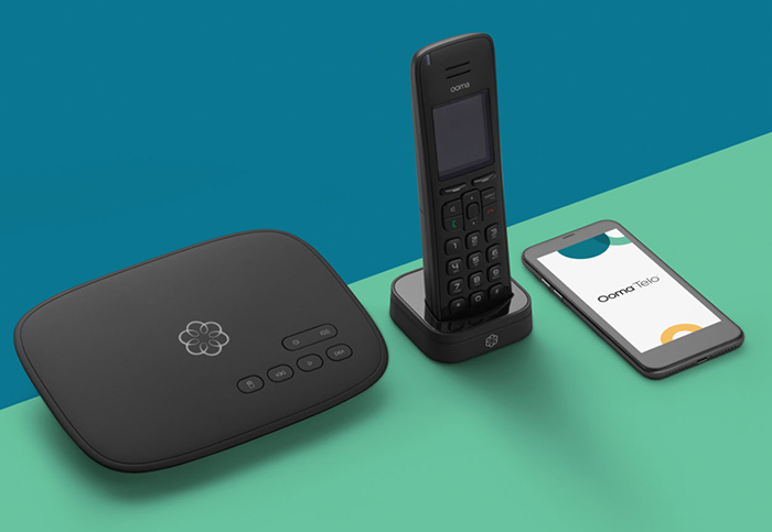 android advanced 911 Ooma Telo