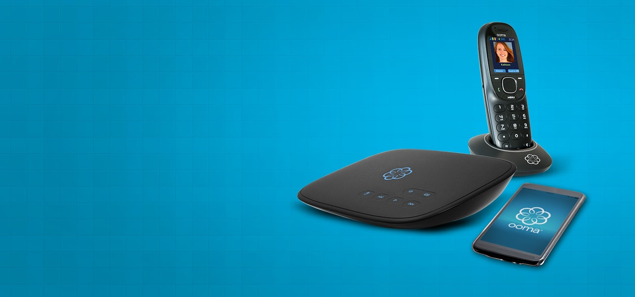Replace your landline with Ooma.