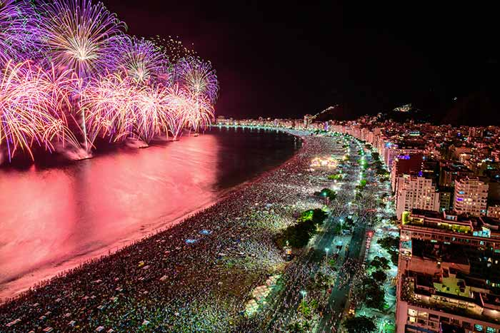 Celebrating New Year's in Brazil: Using the Ooma app for international calls.